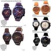 jam tangan couple kulit swis army ringtime