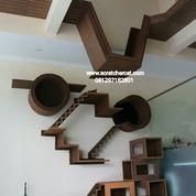 cat furniture,cat condo,mainan kucing,rumah kucing,cat scrtatcher,rumah kucing
