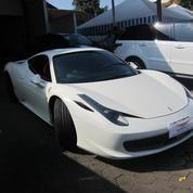 Ferrari F458 Itali Warna Putih 2012 Warranty ATPM