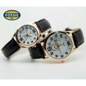 jam tangan couple fossil