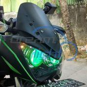 Kawasaki Z250 Projector Bi-Beam LED Fortuner VRZ Custom Shroud + Headlamp