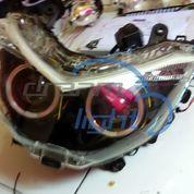 Yamaha NMAX Projector / Projie AES Super + Lampu Alis Tanpa Headlamp