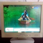 "Monitor LCD Green House 15"" (minus ada flek sedikit), Kota Bandung"
