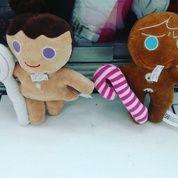 """Boneka mainan bayi & anak"""" karakter / tokoh game / permainan aplikasi messenger / chat Line cookie run boy and girl SNI NEW murmer"""