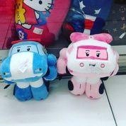 Boneka mainan bayi & anak2 karakter robot mobil tokoh serial film kartun ROBOCAR POLI SNI NEW murah ecer & grosiran reseller