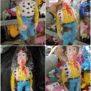 Boneka karakter Sheriff Woody Pride tokoh serial film kartun Toy Story lucu realpic kualitas eksport SNI NEW murah ecer & grosiran reseller
