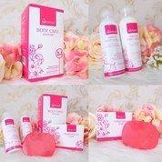 Hanasui Body Care 3 in 1 BPOM Original - Paket Body Lotion Hanasui
