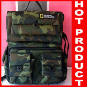 Tas Kamera Backpack Army Series