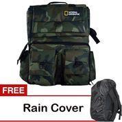 Universal Tas Kamera Backpack/Ransel National Geographic Kode D Army
