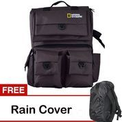 Universal Tas Kamera Backpack/Ransel National Geographic Kode D Brown