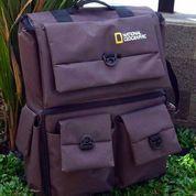 Tas Kamera DSLR Backpack Natgeo Kode D Coklat