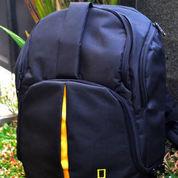 Tas Kamera National Geographic Model Ransel Mini Muat Laptop 12 Inch Free Rain Coat