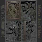 Relief Jati Tua Ukiran 3 Dimensi `NELAYAN` (TOP)