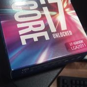 Intel Core I7 6800K LGA 2011 V3 BOX