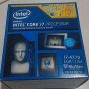 Intel Core I7 4770 LGA 1150 Haswell