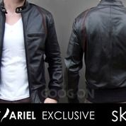 Jaket Kulit, Jaket Kulit Pria Ariel Style | SK-24