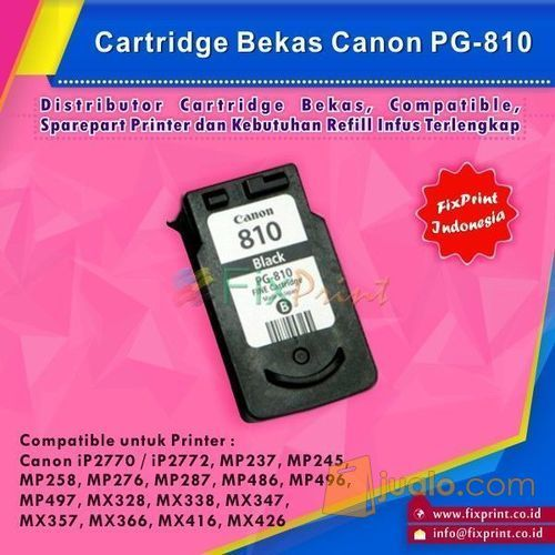 Cartridge bekas pg 81 komputer printer scanner 10036207