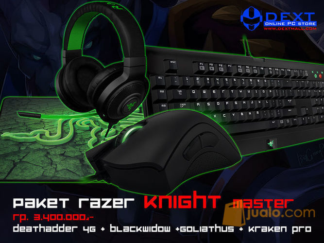 Paket razer knight ma komputer keyboard mouse 10049131