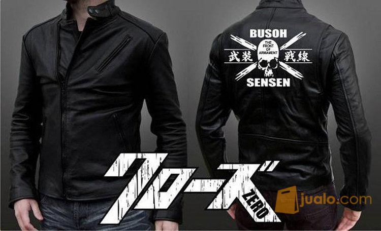 Jaket kulit jaket pr mode gaya pria 10624955