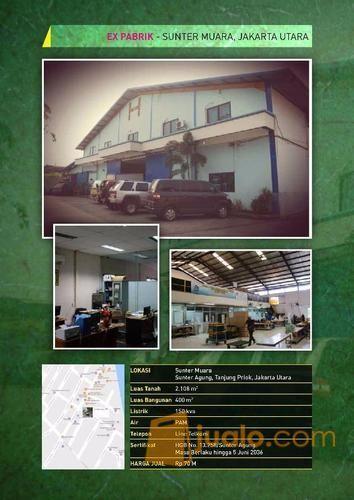 Ex pabrik sunter tanj properti gudang 10901689