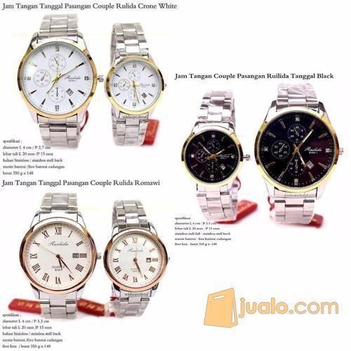 Jam tangan couple rui mode gaya jam tangan 10923031