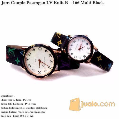 Jam tangan couple lv mode gaya jam tangan 10924887