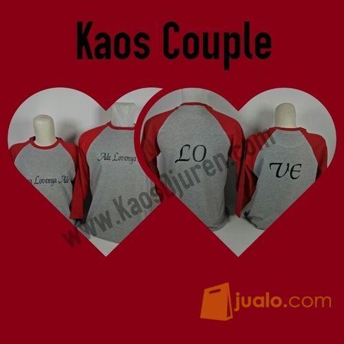 Kaos couple unik mode gaya pria 11246847