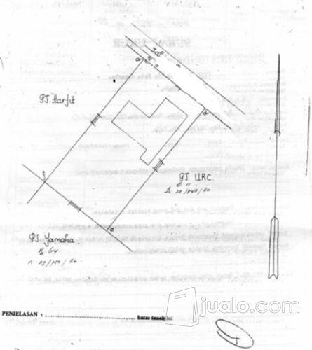 Lahan strategis ex pa properti pabrik 12010929