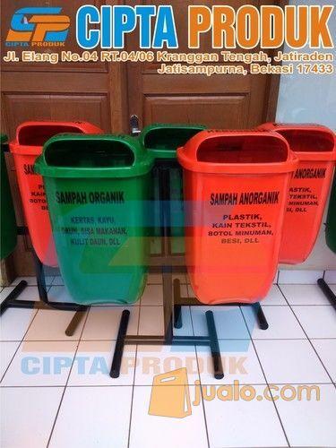 Tong sampah fiber kap kebutuhan rumah tangga konstruksi dan taman 12464767