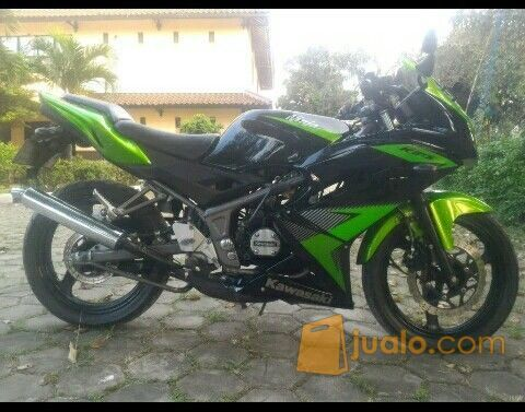 Kawasaki Ninja Rrthn 2014 Hijau Pajak Hidup Super Panjang