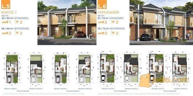 Perumahan Citra Raya Eco Homes Residence Harga Cash Mulai 680 Jutaan 2 Lantai 5x12