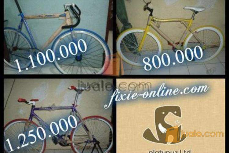 Sepeda Fixie Murah Keren Cuma 800rb Surabaya Surabaya