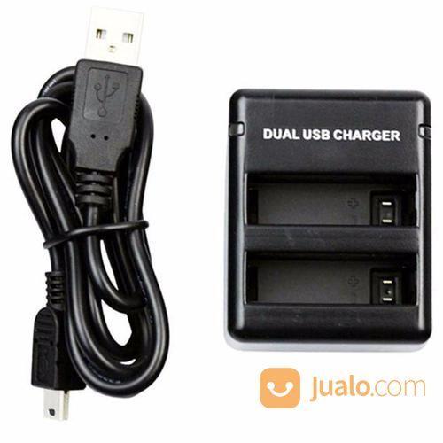 Usb dual battery trav aksesoris kamera lainnya 13177315