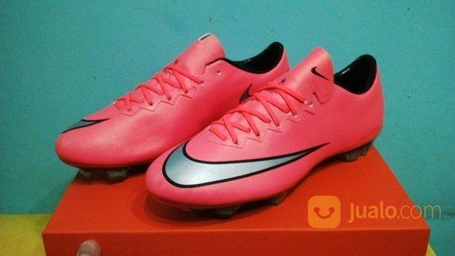 best website 4f3b9 b0115 Sepatu Soccer - Nike Mercurial Vapor X Bright Mango Pink