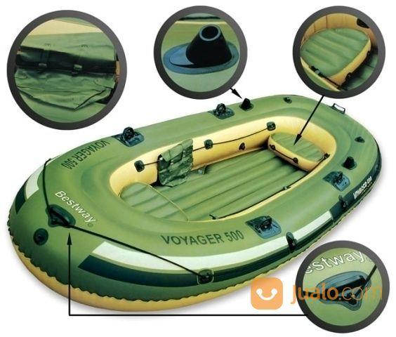 Perahu karet voyager hobi dan aktivitas outdoor lainnya 13508655