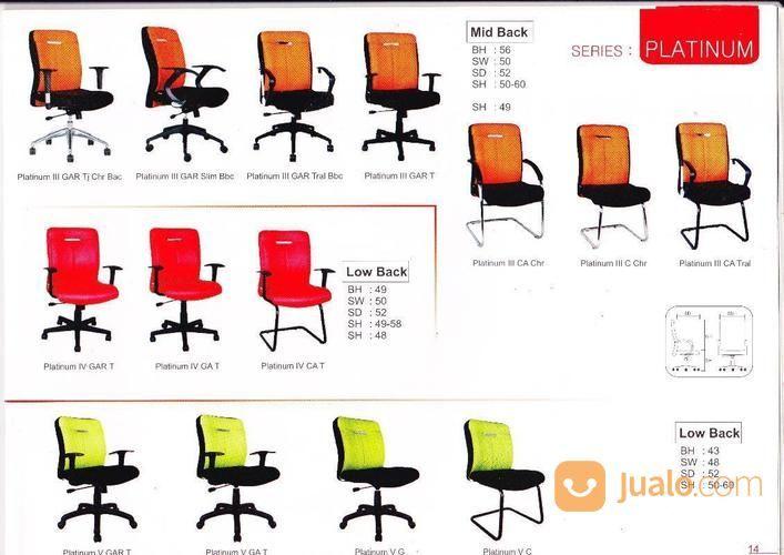 Kursi kantor zoom kebutuhan rumah tangga furniture 13804099