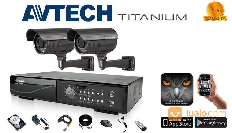 Nathans cctv paket 4 spy cam dan cctv 14130641