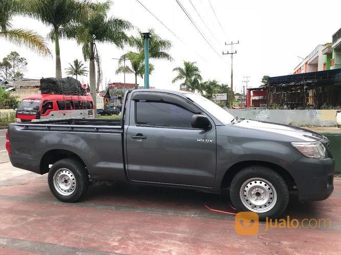 Toyota Hilux Diesel Truck >> Toyota Hilux Diesel Solar Single Cabin Abu Abu Th 2012 Km 19 000