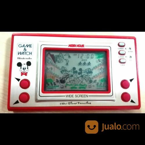 GAME WATCH GIMBOT MICKEY MOUSE