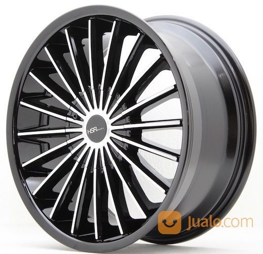 Velg Mobil Racing Ring 18 Hsr Tipe Guardian Lobang 5 Model Jari Jari