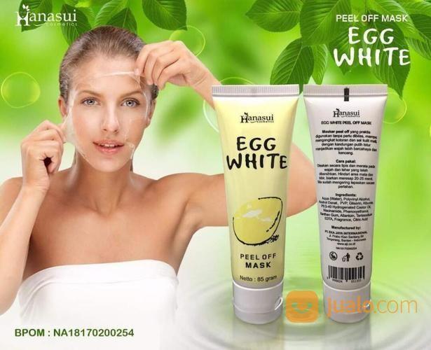 Hanasui egg white mas perawatan kecantikan dan kesehatan 14488453