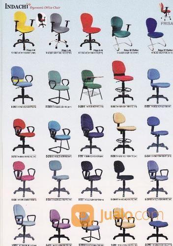 Kursi kantor indachi kebutuhan rumah tangga furniture 14491879