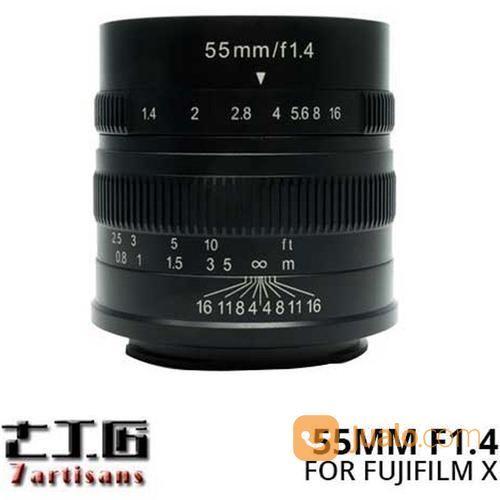 Lensa 7artisans 55mm lensa kamera 14565233