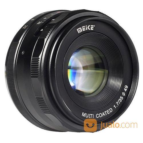 Lensa meike 35mm f1 7 lensa kamera 14642669