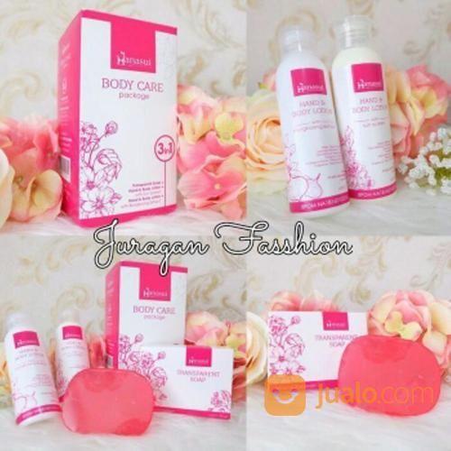 Paket hanasui body wh perawatan kecantikan dan kesehatan 14703077