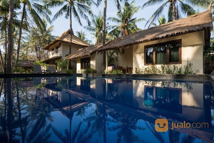 Villa Cantik Gili Trawangan Hanya 100 Meter Dari Pantai