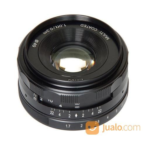 Lensa meike 35mm f1 7 lensa kamera 14710945