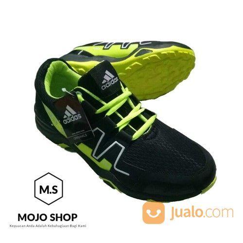 énorme réduction 2f3ca 6fefa Sepatu Adidas Salomon Warna Hijau Hitam Free Box