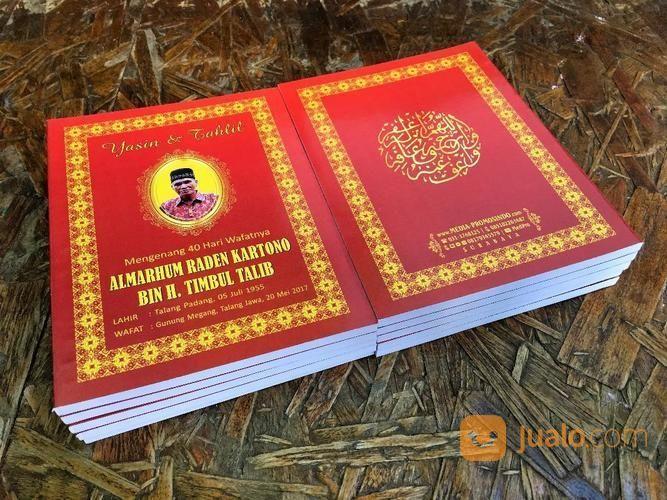 Buku Yasin Tahlil Soft Cover