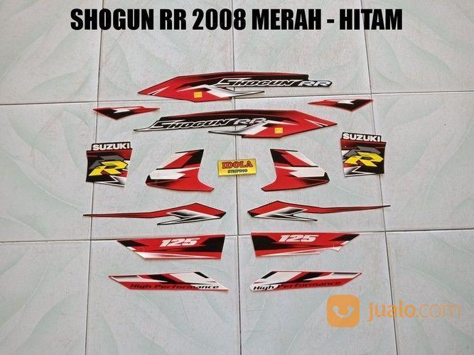 Striping shogun rr 20 aksesoris motor stiker motor 15215245